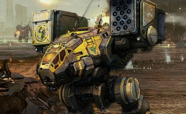 Interview with Russ Bullock on MechWarrior Online