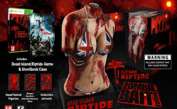 Dead Island: Riptide's Zombie Bait Edition Detailed for UK