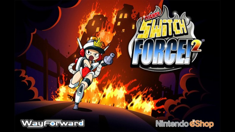 Mighty Switch Force 2 Artwork 2