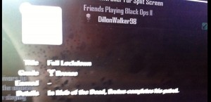 Black Ops 2: Mob Of The Dead Trophy/Achievement List Leaked