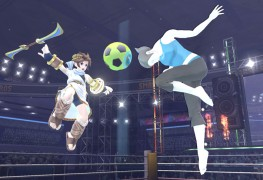 Super Smash Bros. Wii Fit Trainer Soccer Ball Screenshot