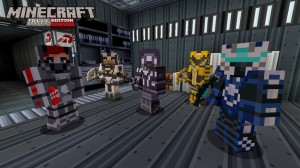 Minecraft Xbox 360 Mass Effect Mash Up DLC Coming In a Few Days