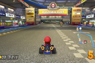 Mario Kart 8 On-Screen Map