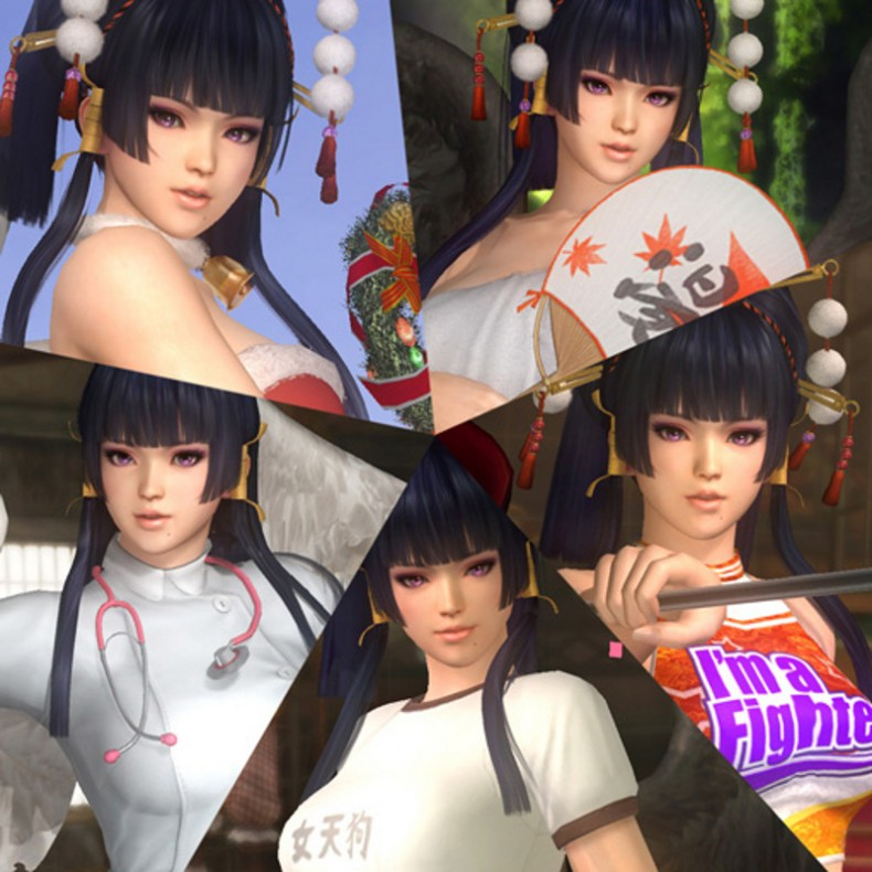 Dead Or Alive 5 Ultimate Female Tengu