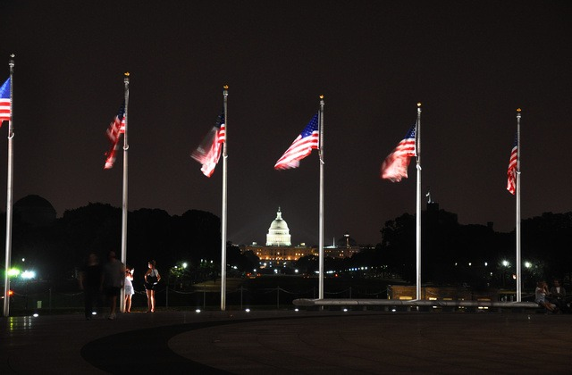 1. America displays their Flag more than any other country