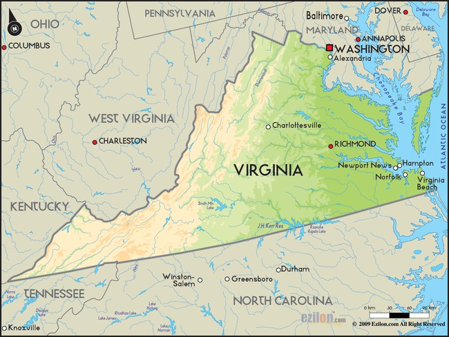 10. Virginia is the birthplace of more presidents than any other USA state