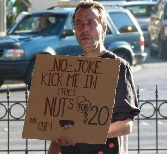 No Need To Spend A Fortune On These: The Smartest Homeless Signs That Will Make You Laugh And