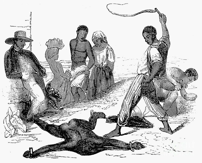 17. The person who started slavery was a black man