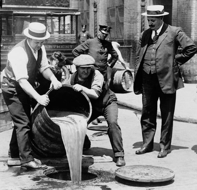 4. In the prohibition, the government was poisoning bear