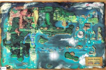 Pokèmon Omega Ruby / Alpha Sapphire Map