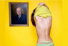 ohio ilegal to disrobe in front of a mans portrait