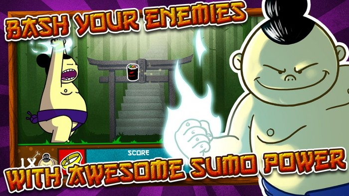 Sumo Smash – Would you help this Sumo stay away from food?