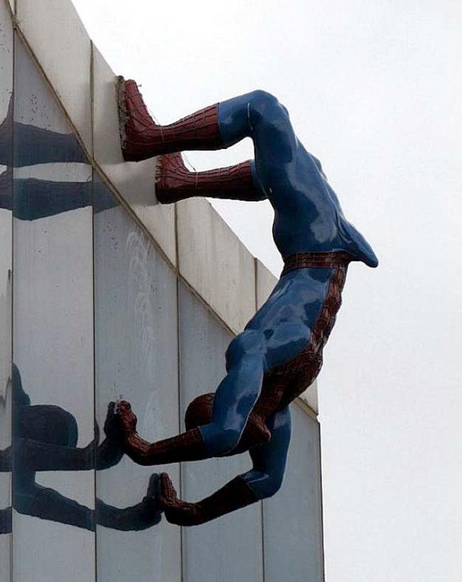 13. Bonerman (This statue was taken down)