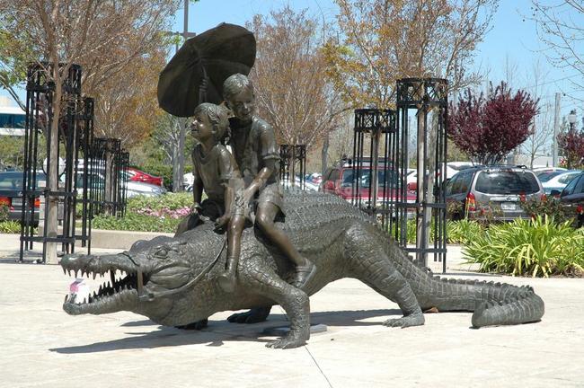 2. An Aligator ride