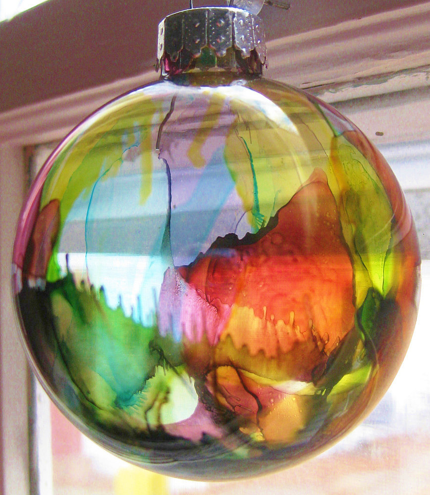 Diy Glass Ornaments: Smart DIY Glass Ball Ornaments For This Christmas