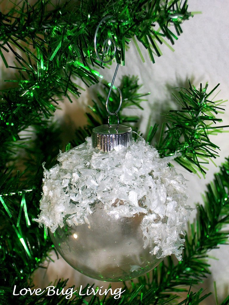 7. Showball Ornaments for the perfect winter spirit