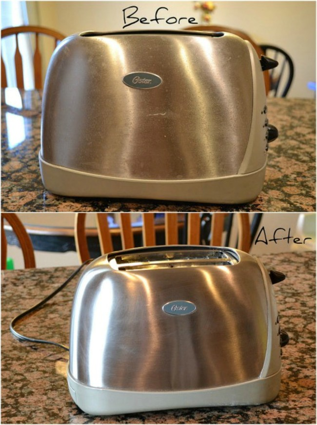 how to clean a toaster with salt