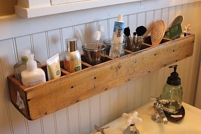 14. CD Tower makes the best bathroom organizer