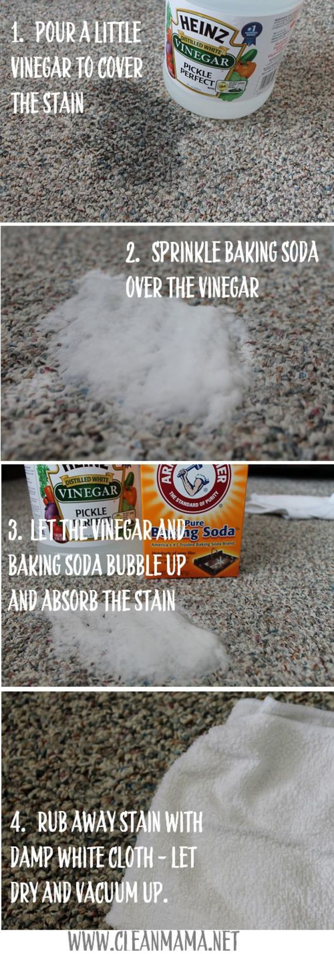 17. Vinergar and baking soda to the rescue!