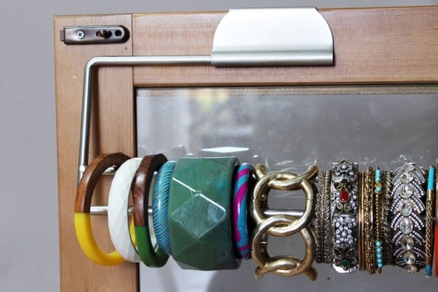 3. Keep your Bracelets organised with Towel Holder