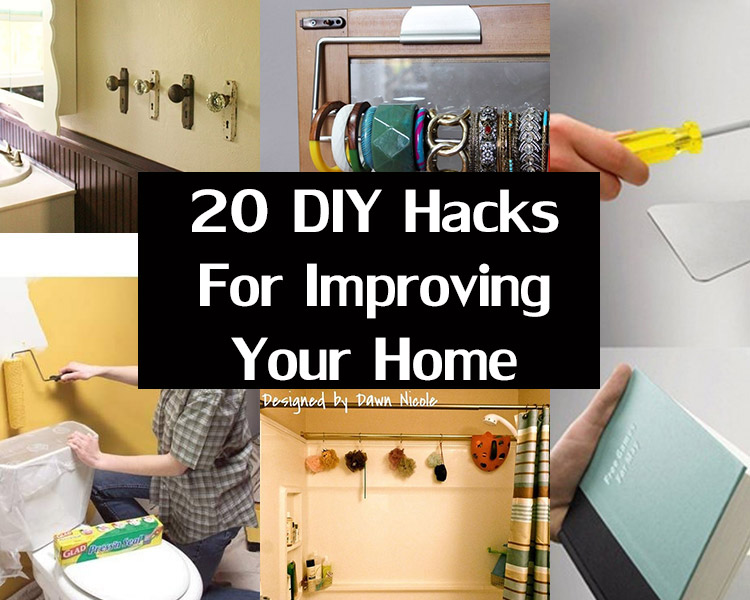 Are You Redecorating We Have Some DIY Hacks For Improving Your Home
