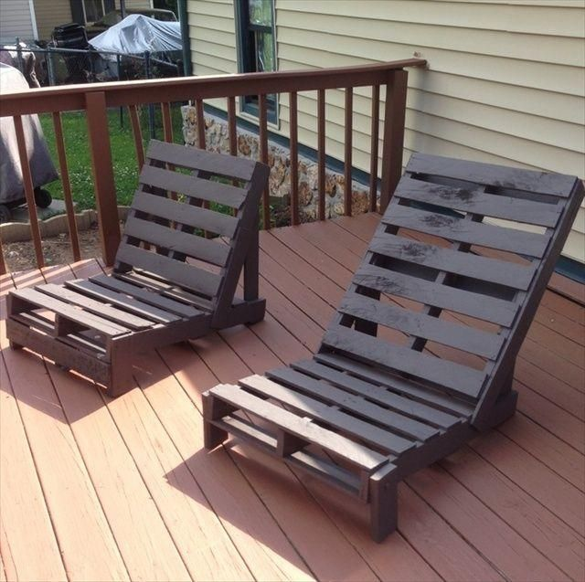 Pallet Chair: 17 Creative Ways Of Turning The Pallets Into Amazing
