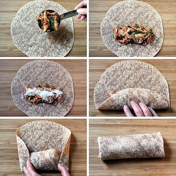 how to make wrap bread