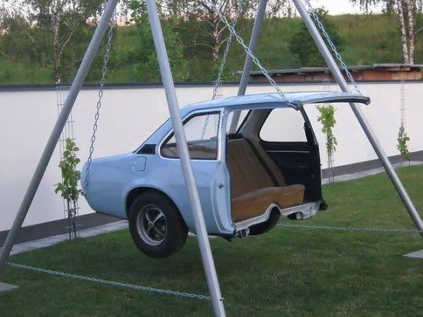 5. Car swing