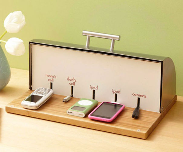 9. Breadbox charging station