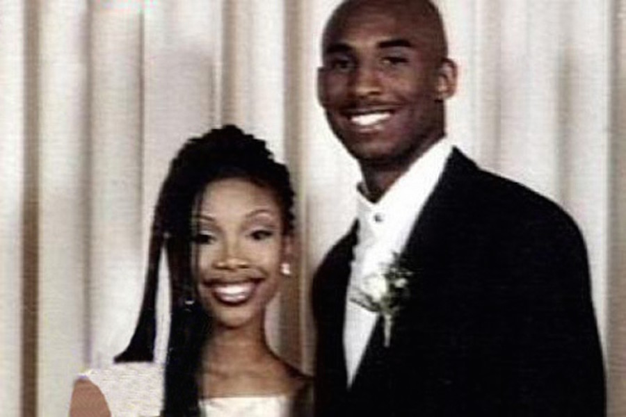 17. Kobe Bryant and Brandy