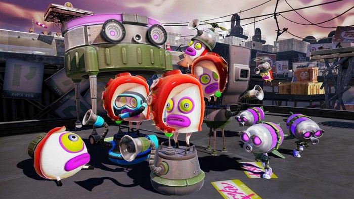 Splatoon Receives New Single Player Gameplay Video