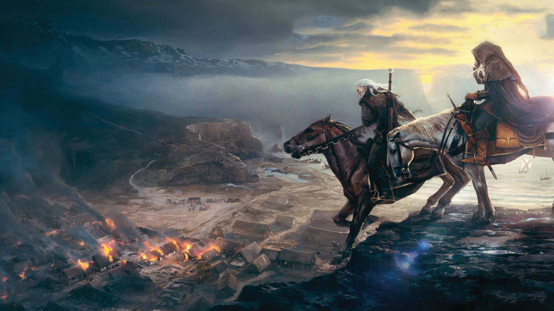 UK Chart: The Witcher 3 Wild Hunt Claims First Place