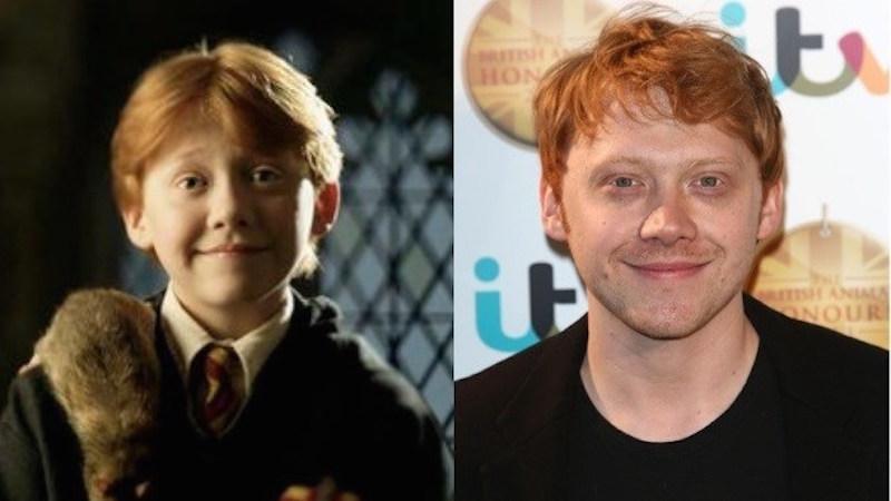1. Rupert Grint as Ron Weasley
