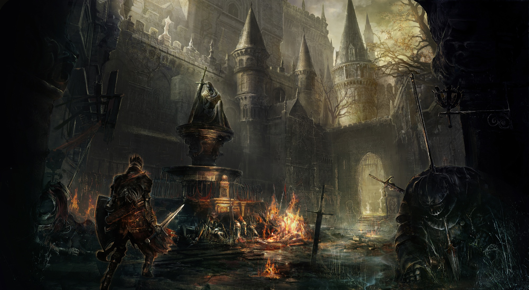 Dark Souls 3 is being developed by a different team to Bloodborne