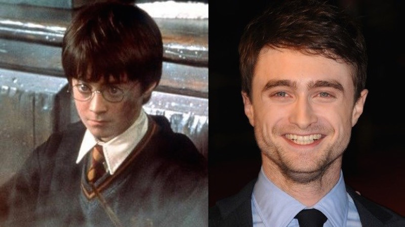 3. Daniel Radcliffe aka Harry Potter