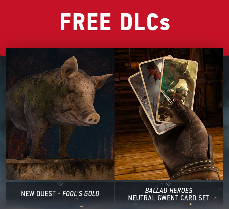 The Witcher 3: Wild Hunt New Free DLC Packs Revealed