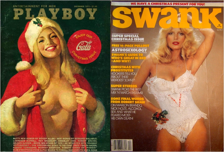 playboy-swank-xmas-issues