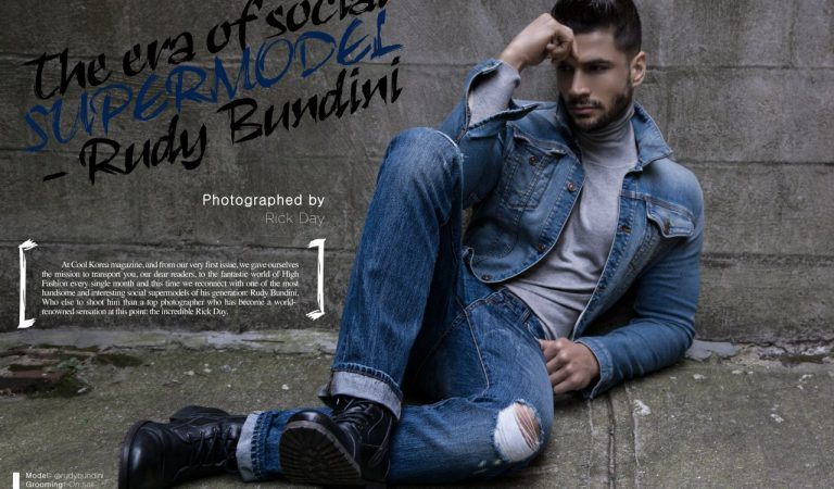 Supermodel Rudy Bundini, the man with thick skin but a soft heart