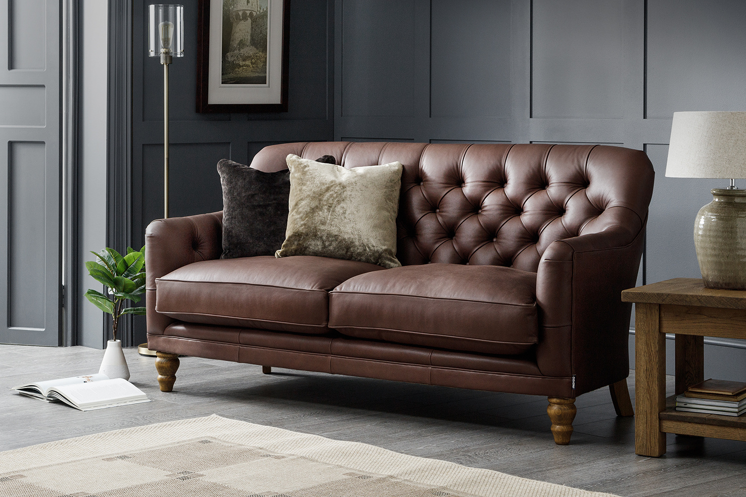 How to fix a rip on a leather sofa