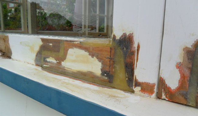 Steps To Repairing A Rotten Window